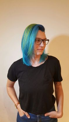 Pulp Riot hair color. Hair by Tiffany Shuck