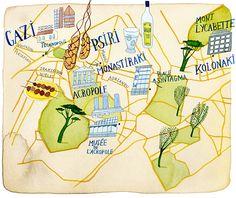 janice nadeau - Athens map