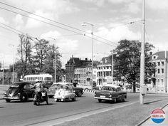 Het Damcircuit (tegenwoordig Airborneplein) in 1958