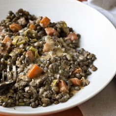 Warm French Lentils - Barefoot Contessa