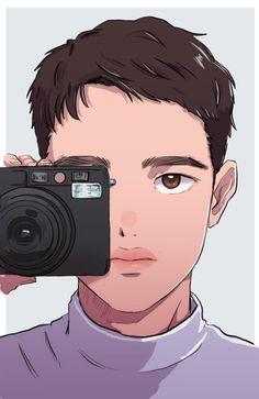 Kyungsoo, Exo Chanyeol, Kaisoo, Exo Cartoon, Avatar Cartoon, D O Exo, Exo Do, Exo Anime, Exo Lockscreen