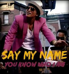 28/01/15 - Say my name you know who I am!!