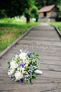 Flowers on the dock