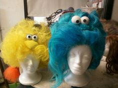 Wigs i have done- sesame street goes drag
