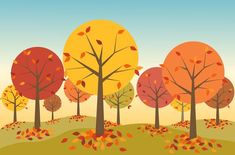 An autumn scene by Eli Griffith