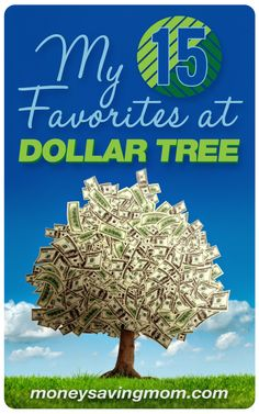 My 15 Favorite Things to Buy at Dollar Tree... what are YOUR favorite things to buy at Dollar Tree?