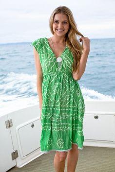 Ya-Ya Ruby Freedom Shibori Dress on shopstyle.com.au