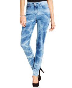 Levi's® Juniors' High Rise Skinny Jeans - Juniors Jeans - Macy's