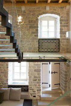 Modern Renovation Of A 19th Century Old Stone House In Montenegro   iDesignArch   Interior Design, Architecture & Interior Decorating eMagazine