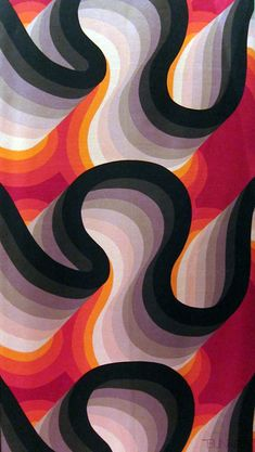 Graphic Design - Pattern Design - textile by Barbara Brown Pattern Design : – Picture : – Description textile by Barbara Brown -Read More – Motifs Textiles, Textile Patterns, Print Patterns, 60s Patterns, Graphic Patterns, Textile Prints, Cool Patterns, Art Prints, Geometric Patterns