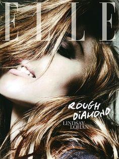Lindsay Lohan/Elle UK