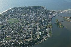 Monrovia Aerial View