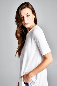 Perfectly Basic Tunic Top #JessLeaBoutique