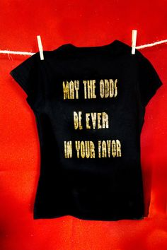 Customized Hunger Games Front and Back by BouncyBumbleBoutique, $25.00