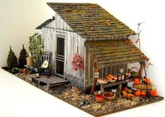 Harvest Home by Karin Foster of Orr Lake Miniatures