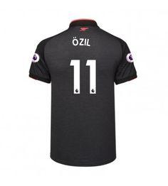 Billiga Arsenal Mesut Ozil 11 Tredje Tröja 17-18 Kortärmad Arsenal Fc, Manchester United, Premier League, 18th, Sports, Tops, Goaltender, Leotards, Football Soccer
