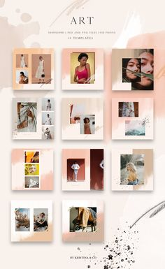 Post Template Art and Moodboard Social Media Template Insta Story Template, E-Commerce Tools, Marketing Instagram Creator, Feeds Instagram, Instagram Grid, Instagram Design, Instagram Posts, Insta Instagram, Instagram Story, Web Design, Logo Design
