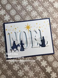 Randi's Crafty Creations: Eclipse Card w/Stampin Up Night in Bethlehem stamp, New Catalog & specials