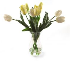 This gorgeous arrangement of artificial cream tulips in a sweetheart vase adds a touch of country charm to interior decor schemes, Luxury Interior Design, Interior Decorating, Decorative Items, Decorative Accessories, Floral Decorations, Boutique Homes, Custom Window Treatments, Country Charm, Service Design