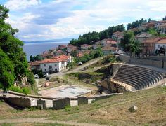 Ancient Theater, Ohrid, Macedonia