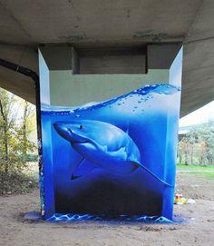 Unieke-creatieve-straatkunst-illusies-1