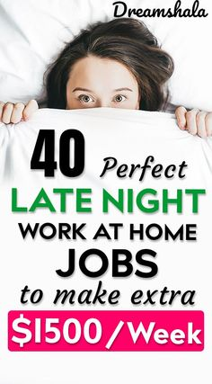 Are you searching for some late night work at home jobs? Here is the list of 50 genuine late night work at home jobs that pays you every day. Check now! Work From Home Careers, Legit Work From Home, Legitimate Work From Home, Work From Home Opportunities, Work At Home Jobs, Earn Money From Home, Make Money Fast, Earn Money Online Fast, Make Money Blogging