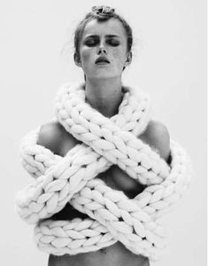 Exaggerated Crochet Ensembles : More or Less Collection