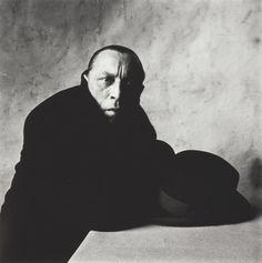 Irving Penn American, 1917–2009 Louis Jouvet (D), New York, January 1951 | The Art Institute of Chicago