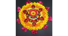 Floral & diyas decoration for this diwali పూలతో దీపాల అందం రెట్టింపయ్యేలా..! మార్కెట్లో లభించే మామూలు ప్రమిదల్ని కూడా అందంగా కనిపించేలా సింపుల్గా ఎలా డెకరేట్ చేసుకోవచ్చు?ఆ విశేషాలు మీ కోసం..https://goo.gl/LeAGQ6 #Diwali #DIY #Diyas  #FestivalDecor #VasundharaKutumbam