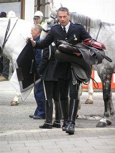 Men in riding boots Mens High Boots, Mens Riding Boots, Riding Gear, Man Boots, Cop Uniform, Men In Uniform, Hot Cops, Uniform Design, Guys