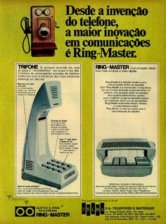 Telefones Telma, #Brasil  #anos60  #retro