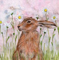 Moonflower - Artist print -Hare