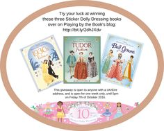Win a bundle of Sticker Dolly Dressing Books at Playing By The Book