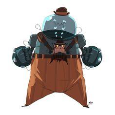 Bionic Cowboys by Ido Yehimovitz, via Behance