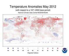 Second hottest May ever worldwide.
