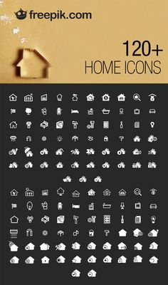 120 Free Home Vector Icons