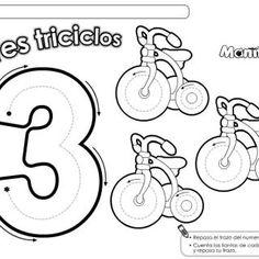 Cuadernillo complementario para 3 años, Educación Preescolar conceptos matemáticos - Imagenes Educativas