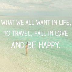 Travel.