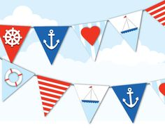 4th of july boat party | ... 4th of July, Heart, Anchor, Sail Boat, Stripes, Lift Saver, Party
