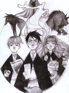 Harry Potter and the Prisoner of Azkaban by /u/ryna_ordynat