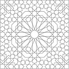 Creative Haven Alhambra Designs Coloring Book