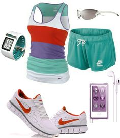 Women's fashion Nike outfit