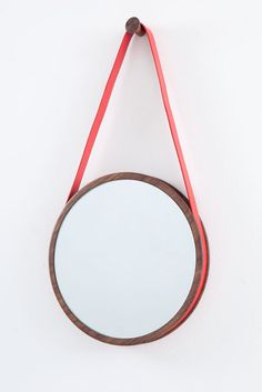 Being Blease Small wallnut red leather strap