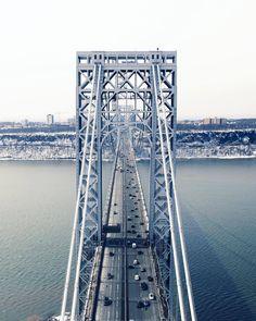 Fort Lee, Washington Heights, Ny Ny, Hudson River, George Washington Bridge, Concrete Jungle, Coups, City Life, New Jersey