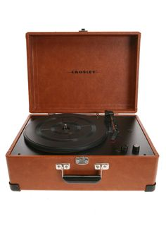 UrbanOutfitters.com > Crosley Archive Portable USB Turntable         I was JUST talking about how badly I want one of these!