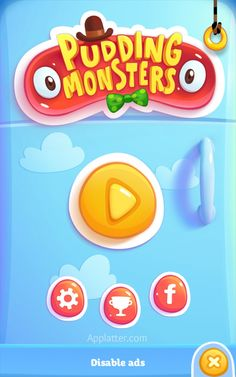 Pudding Monsters Android App