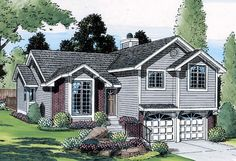 Traditional   House Plan 20218