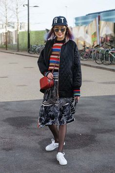 KIM IRENE | London Fashion Week Street Style Fall 2015