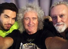 First day of rehearsals w ! Queen With Adam Lambert, Queen Meme, Adam Style, Brian May, John Deacon, Save The Queen, Sound Of Music, Freddie Mercury, It Cast