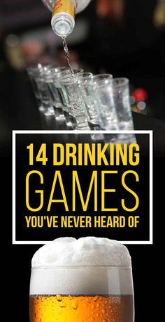 14 Insanely Fun Drinking Games You've Never Heard Of.people always ask me about drinking games and I never know any. This should help! Drinks 14 Incredibly Fun Drinking Games You've Never Heard Of Party Drinks, Fun Drinks, Yummy Drinks, Alcoholic Drinks, Beverages, Drunk Party, Drinking Games For Parties, Adult Party Games, Fun Games